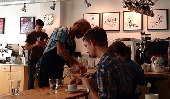 Внутренние чемпионаты в кофейне