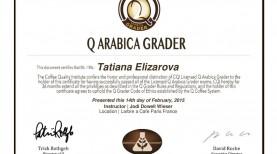 Elizarova Q-grader